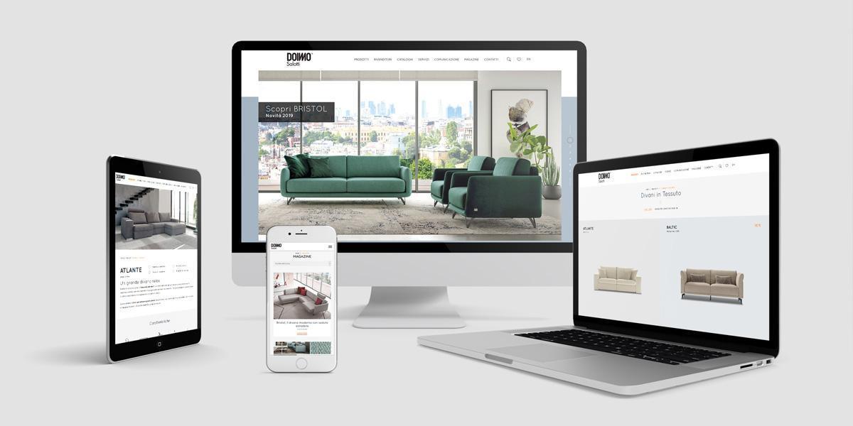 sito web Doimo Salotti
