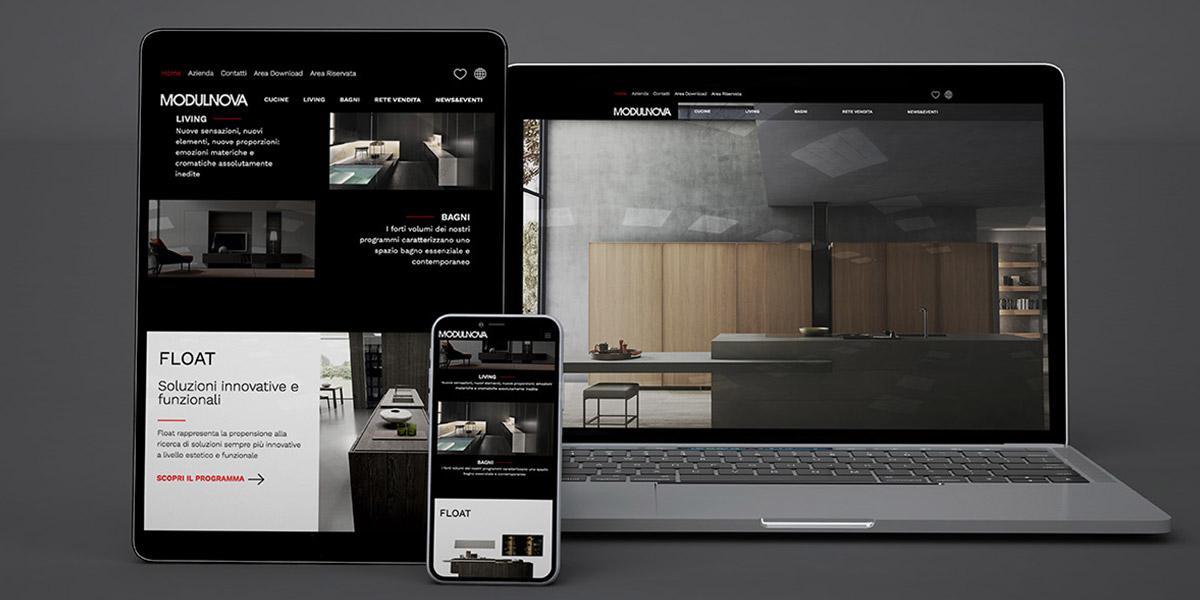 responsive website MODULNOVA
