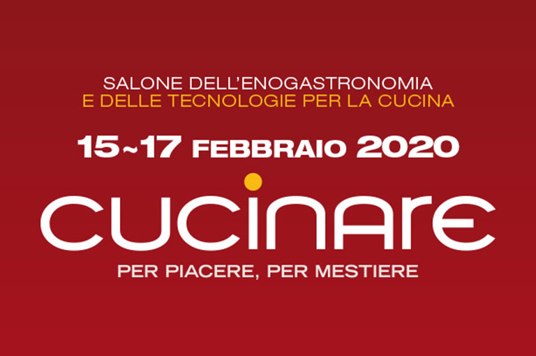 Cucinare, the food and kitchen technology Fair in Pordenone