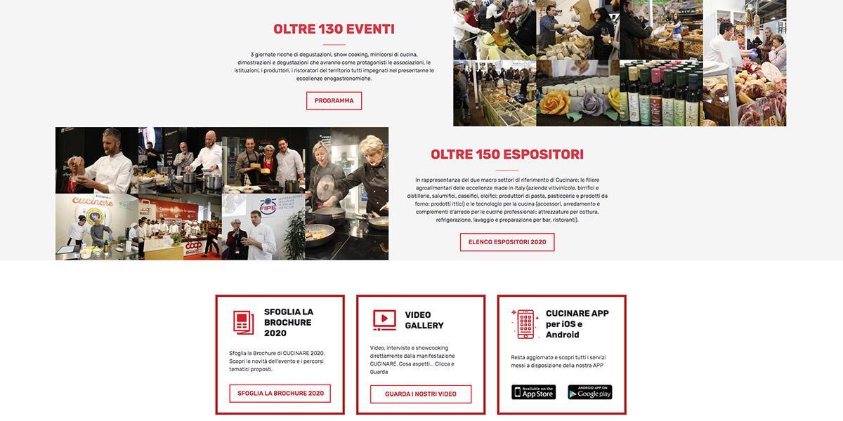 sito web Cucinare