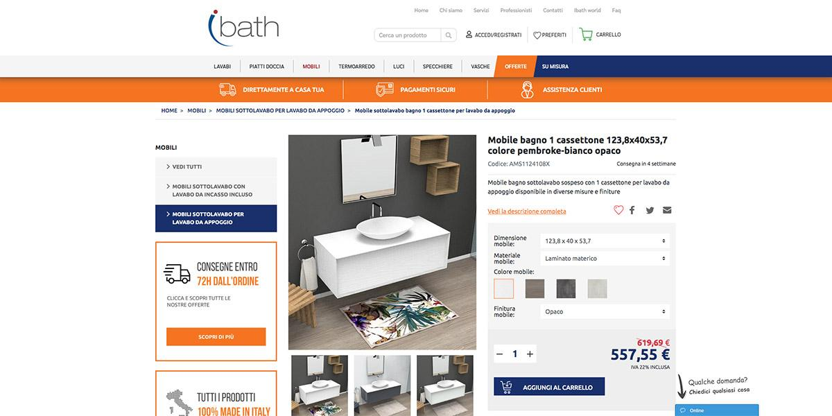 e-commerce Ibath