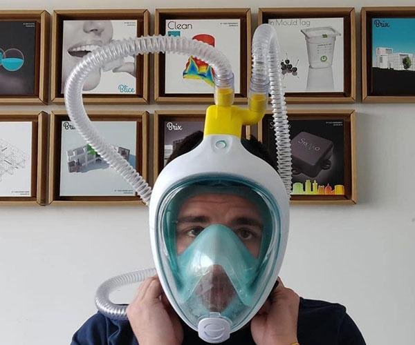 maschera respiratoria
