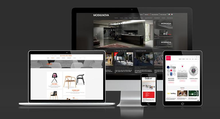 Web agency pordenone web marketing realizzazione siti web - Siti design arredamento ...