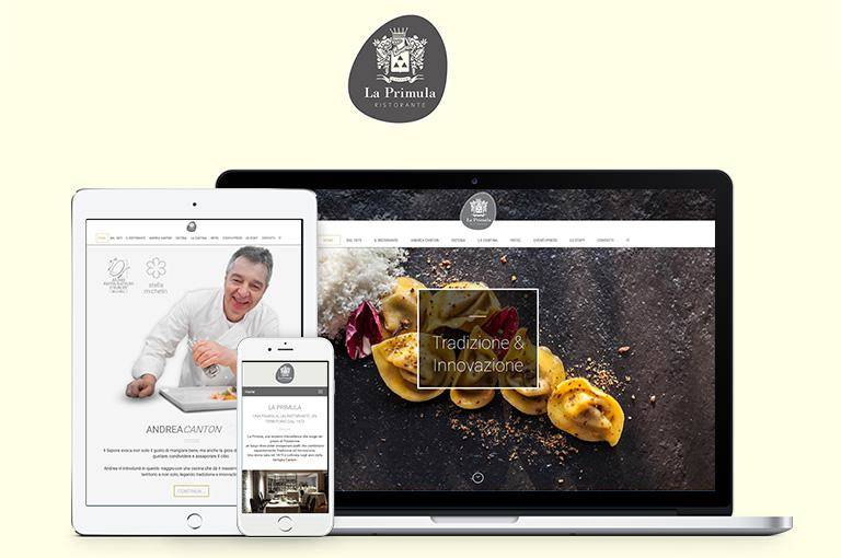 THE NEW WEBSITE OF LA PRIMULA RESTAURANT IS ONLINE