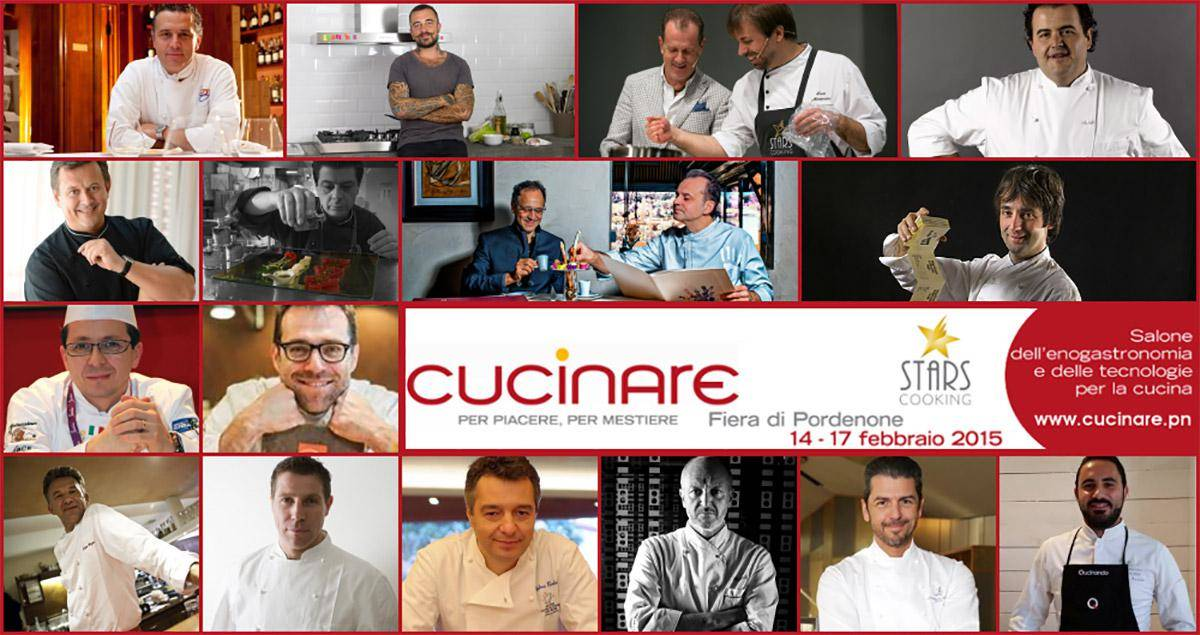 CUCINARE 2015, IL SUCCESSO DELLA CUCINA ITALIANA A PORDENONE