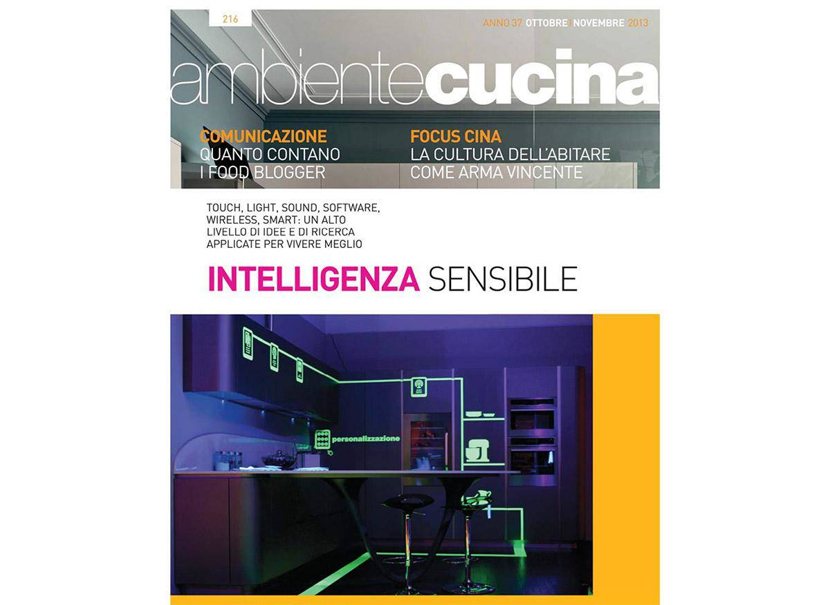 AMBIENTE CUCINA WORK IN PROGRESS - HOME AUTOMATION THAT DIALOGUE WITH US