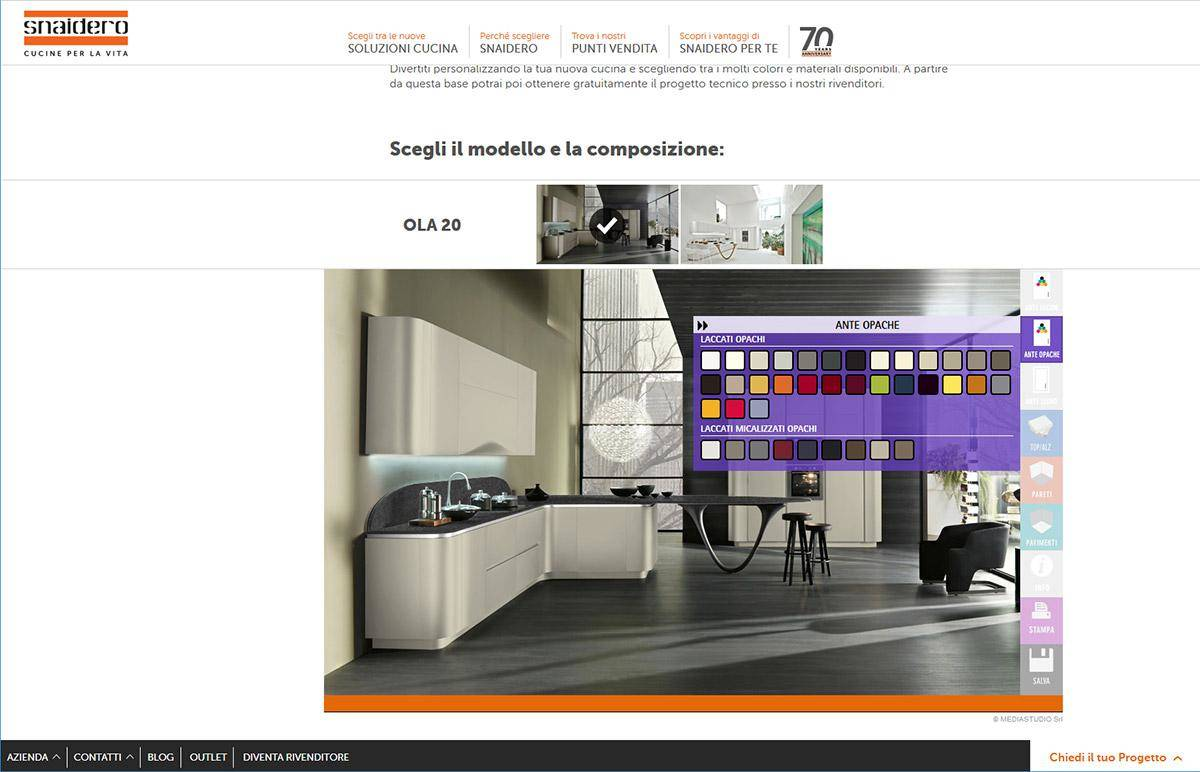 MEDIASTUDIO INTRODUCES THE INNOVATIVE WEB APP FOR SETTING-UP SNAIDEO KITCHENS