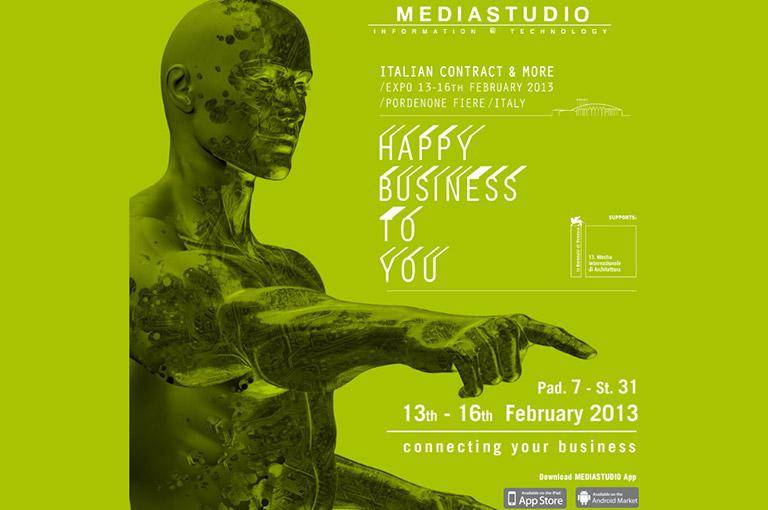MEDIASTUDIO parteciperà alla fiera HAPPY BUSINESS TO YOU