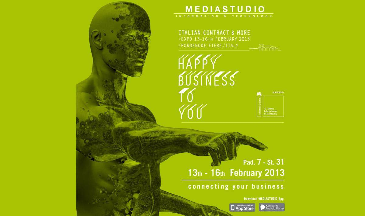 MediaStudio will be present at HAPPY BUSINESS TO YOU