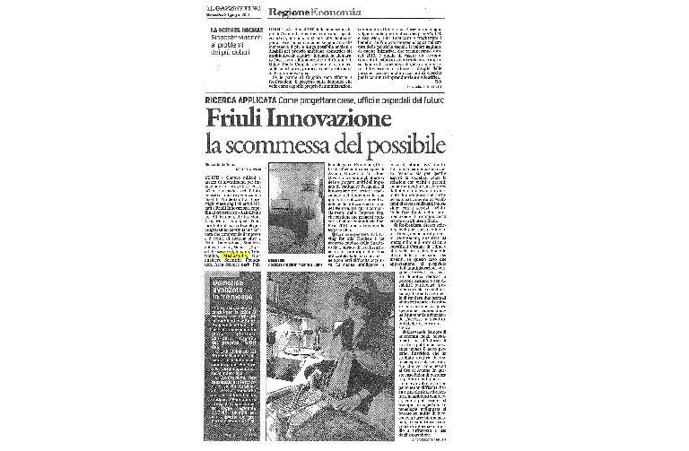 How to design houses, offices and hospitals of the future Friuli Innovazione