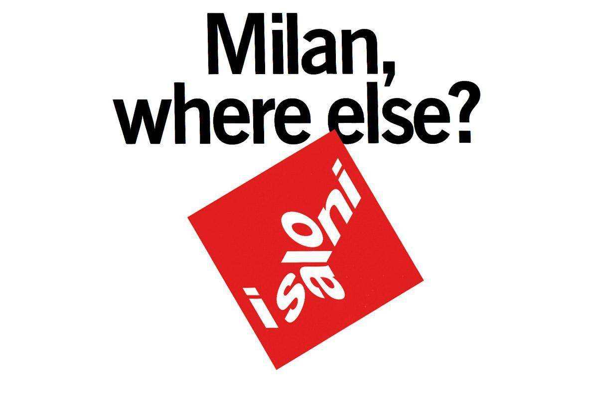 51st Edition of the Salone del Mobile, April 17 to 22, Milan