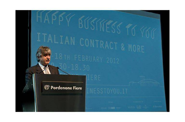Inaugurata Happy Business to You E' un successo la nuova formula fieristica che punta al Contract Italiano
