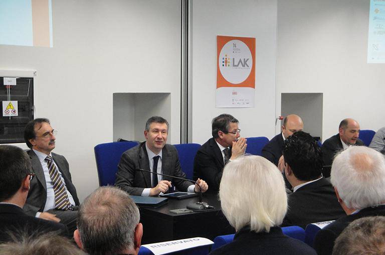 Friday 28th January 2012 - LAK Event at Polo Tecnologico di Pordenone