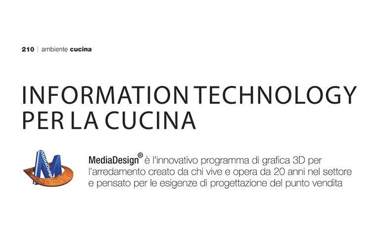 MEDIASTUDIO: INFORMATION TECHNOLOGY PER LA CUCINA
