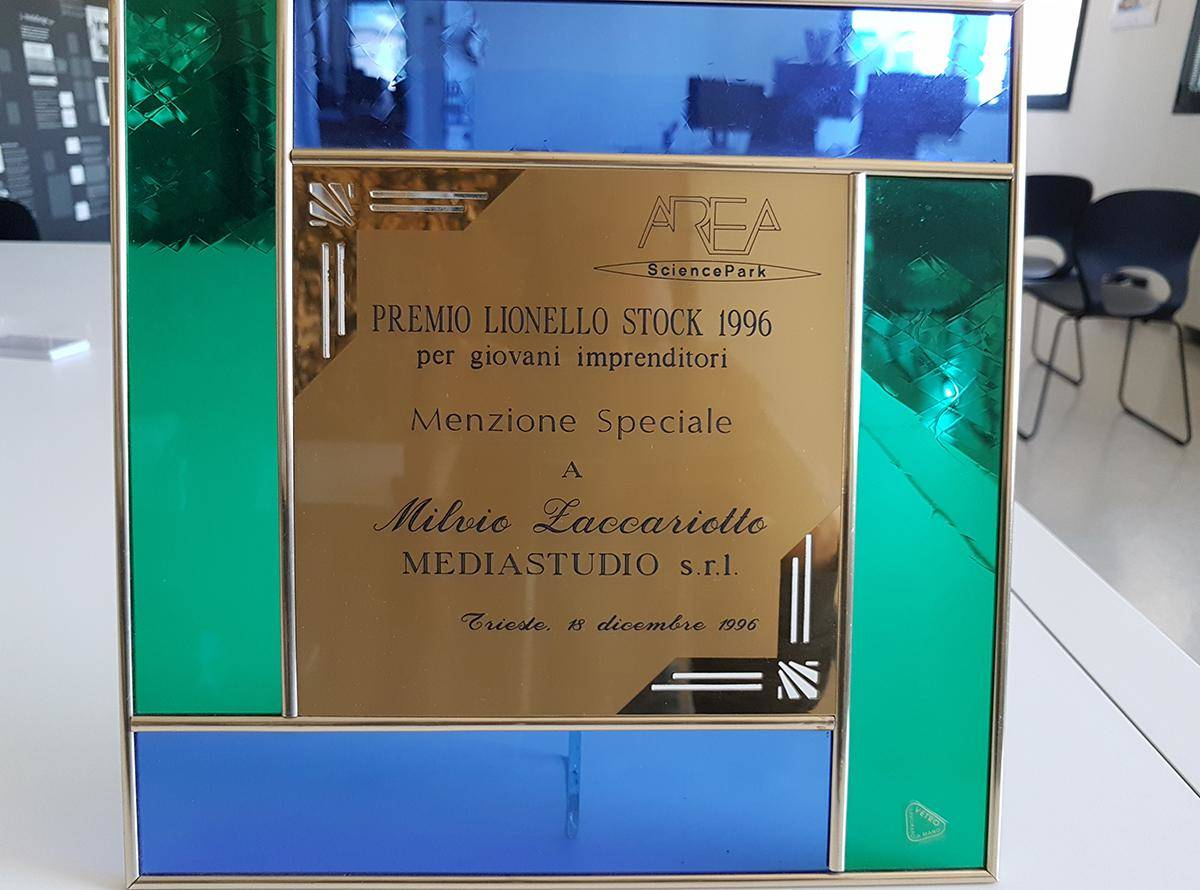 Special Mention Lionello Stock Prize for Milvio Zaccariotto