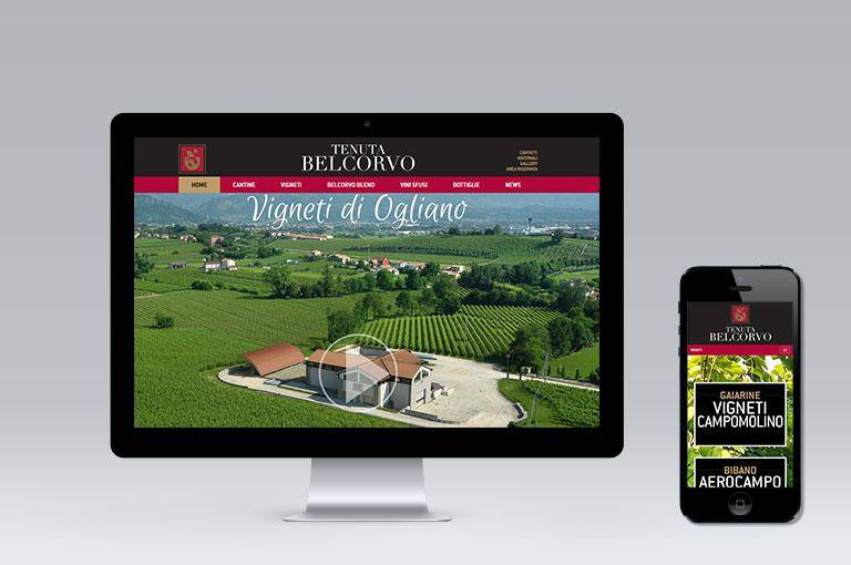TENUTA BELCORVO NEW WEBSITE