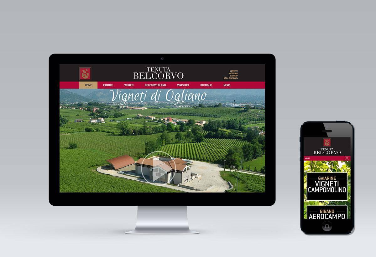 TENUTA BELCORVO NEW WEBSITE