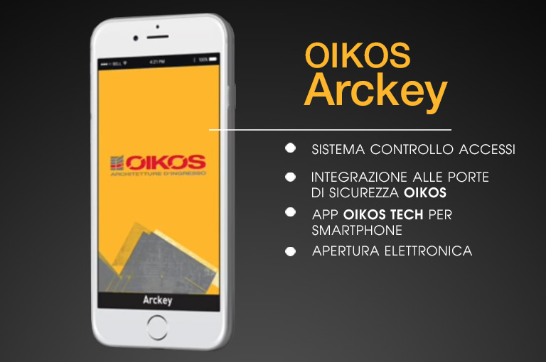 Manage your Oikos door with Arckey