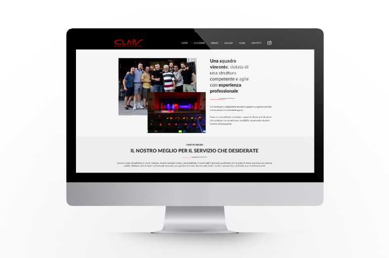 The new CLAPS website is online