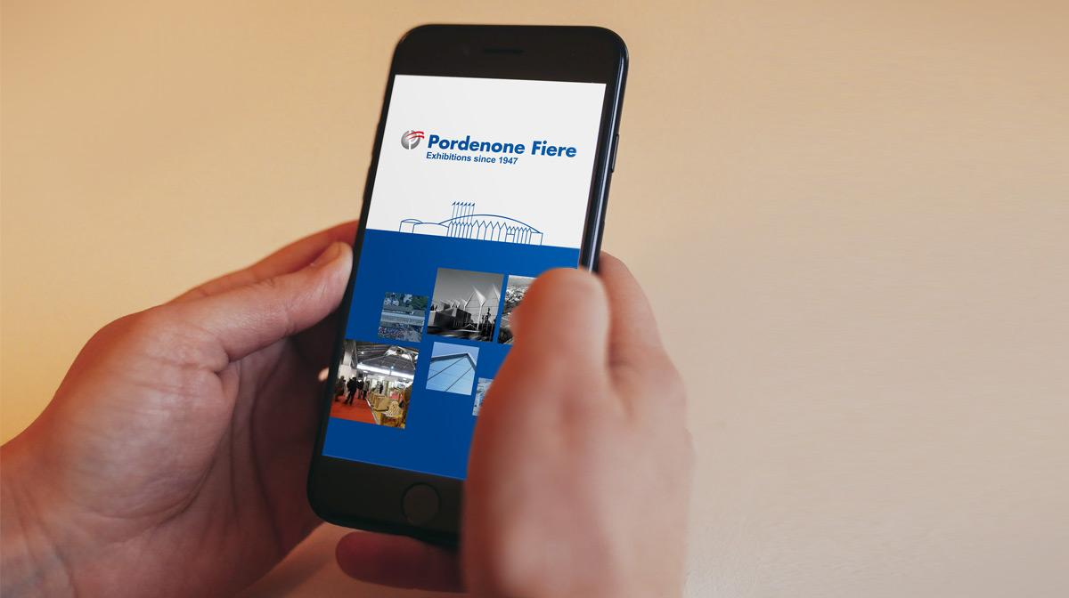The new APP of Pordenone Fiere was presented in preview