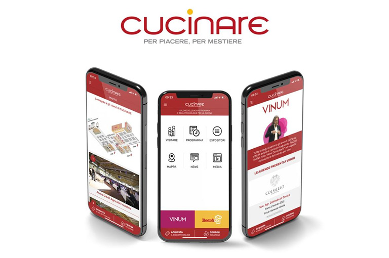 The new APP of CUCINARE