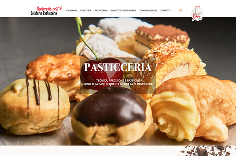 THE NEW WEBSITE OF THE MONTEREALE PASTRY SHOP IS ONLINE