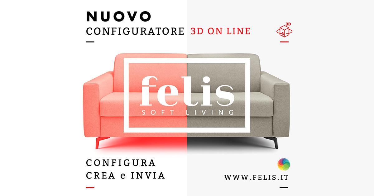 FELIS SOFT LIVING - THE NEW 3D CONFIGURATOR BY MEDIASTUDIO